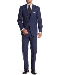 Tommy Hilfiger - Vassar Chalk Navy Pinstripe Notch Lapel 2-piece Suit - Lyst