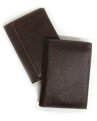 Boconi Leather Bi-fold Wallet In Cognac At Nordstrom Rack - Brown