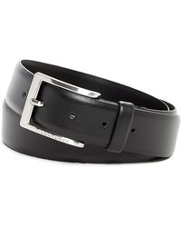 BOSS - Plain Leather Belt - Lyst