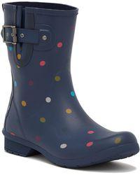 Chooka - Classic Waterproof Mid Lottie Dot Rain Boot - Lyst