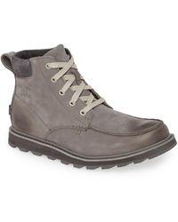 Sorel Madson Moc Toe Waterproof Boot - Multicolor