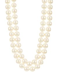 Carolee Nassau Nights Double Strand Faux Pearl Necklace - Multicolor