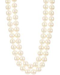 Carolee Nassau Nights Double Strand Faux Pearl Necklace - Multicolour