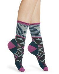 Smartwool Pressure Free Triangle Crew Socks - Multicolor