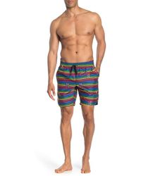 2xist Patterned Boardshorts - Blue