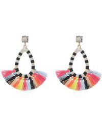 BaubleBar - Sandbar Stone & Tassel Drop Earrings - Lyst