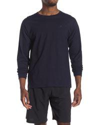 Champion Classic Jersey Long Sleeve T-shirt - Blue