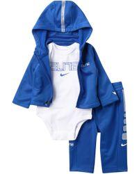 31e44c1ee4d5 Lyst - Polo Ralph Lauren Hoodie   Jogger Gift Set in Gray for Men