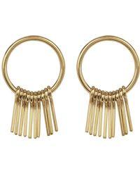 Soko - Fringe Round Earrings - Lyst