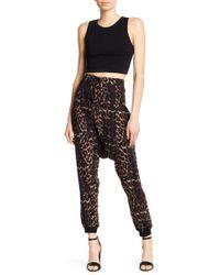 One Teaspoon - Arizona Leopard Harem Pants - Lyst