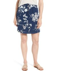 Gibson - X Hi Sugarplum! Monterey Easy Skirt (regular & Petite) (nordstrom Exclusive) - Lyst
