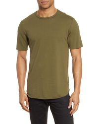 Rag & Bone Huntley Jersey Tee Relaxed Fit T-shirt - Multicolour