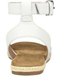 Aerosoles Demarest Ankle Strap Espadrille Sandal - White