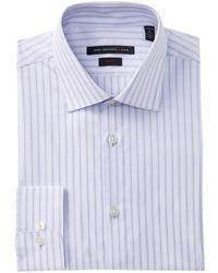 John Varvatos - Soho Stripe Slim Fit Dress Shirt - Lyst