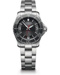 Victorinox - Men's Maverick Automatic Small Bracelet Watch, 34mm - Lyst