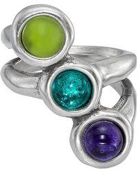 Uno De 50 - Murano Crystals Super-ego Ring - Lyst