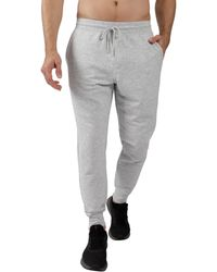 90 Degrees Jogger With Zipper In Back - Gray