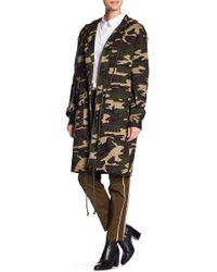 Endless Rose - Oversized Camo Print Anorak - Lyst