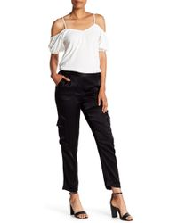 1.STATE - The Bedford Satin Trousers - Lyst