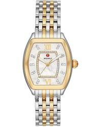 Anne Klein Women's Diamond Dial Bracelet Watch, 30mm - Metallic