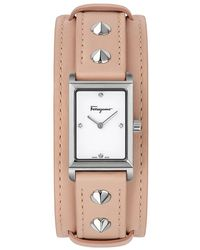 Fossil Women's Diamond Dial Bracelet Watch, 30mm - Metallic