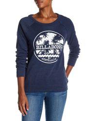 Billabong - Shred Out Fleece Sweatshirt - Lyst
