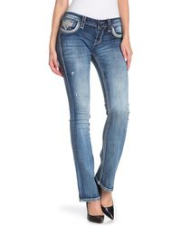 Rock Revival Hetty Mid-rise Bootcut Jeans - Blue