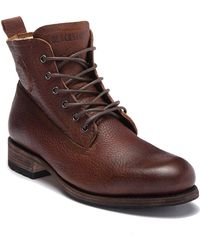 Blackstone - Gm 10 Genuine Shearling Lined Lace-up City Boot - Lyst