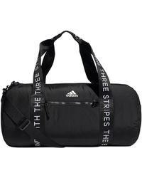 adidas Vfa Roll Duffel Bag - Black