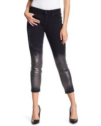 Level 99 Amber Slouchy Skinny Jeans - Blue