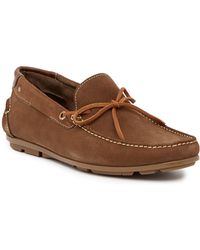 Sandro Moscoloni - Alger Leather Moc Loafer - Lyst