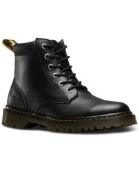 Dr. Martens Cartor Lace-up Leather Boot - Black