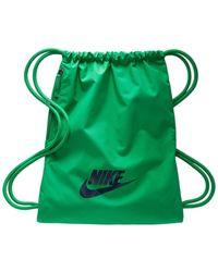 Nike Gym Club Drawstring Bag - Green