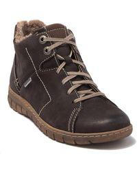 Josef Seibel Steffi 58 Waterproof Boot - Brown