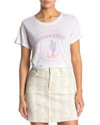 PAIGE Ellison Cactus Club T-shirt - White