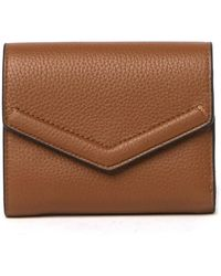 Vince Camuto Mika Leather Wallet - Brown