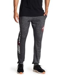 Affliction - Knit Print Joggers - Lyst