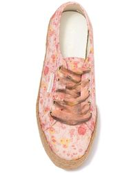 Superga 2730 Espadrille Sneakers - Pink