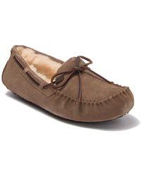 UGG Olsen Moccasin Pure Lined Slipper - Brown
