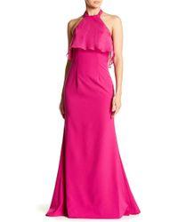 JS Boutique - Sleeveless Halter Dress - Lyst