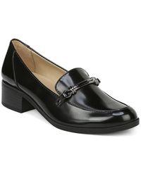 Naturalizer Naples Heeled Loafer - Wide Width Available - Black