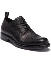 John Varvatos - Fulton Asymmetrical Leather Oxford - Lyst