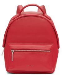 Matt & Nat Loom Collection Bali Vegan Mini Backpack - Red