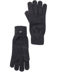 UGG - Knit Tech Gloves - Lyst