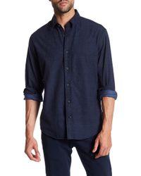 James Campbell - Tesoro Chambray Long Sleeve Regular Fit Shirt - Lyst