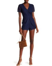 Ramy Brook | Annanee Lace Romper | Lyst