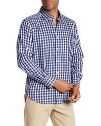 Robert Graham - Freddie Gingham Print Classic Fit Woven Shirt - Lyst