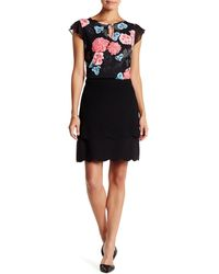Cece by Cynthia Steffe - Scalloped Tiered Skirt - Lyst