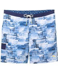 Tommy Bahama - Baja Coast Busters Swim Trunks (big & Tall) - Lyst
