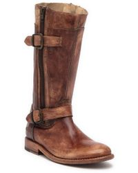 Bed Stu - Gogo Leather Buckle Boot - Lyst